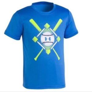 NWT. Under Armour Baseball Tee